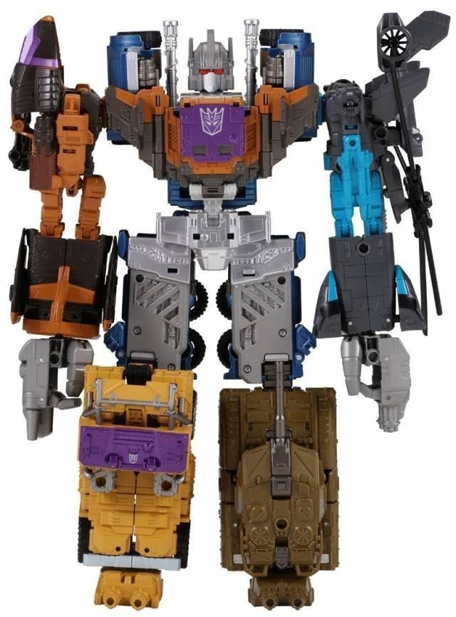 Transformers Unite Warriors - UW-07 - Bruticus w/ Blast-off Shuttle - MIB