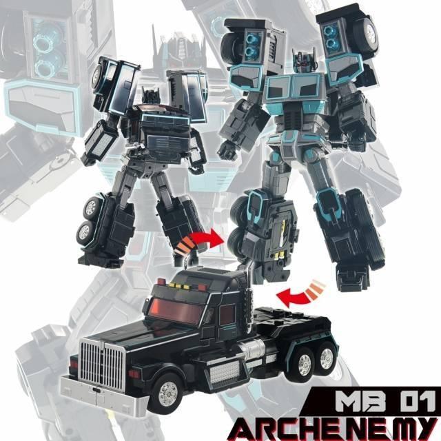 Fans Hobby - Master Builder - MB-01 - Archenemy - MISB