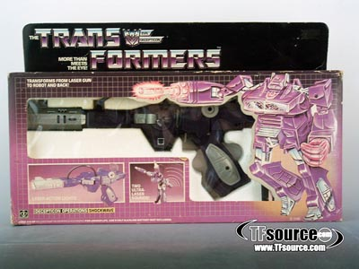 Transformers G1 Boxed - Shockwave - MISB