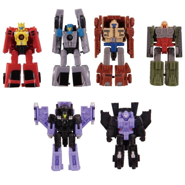 Transformers Generations War for Cybertron: Micromasters Wave 1 - Set
