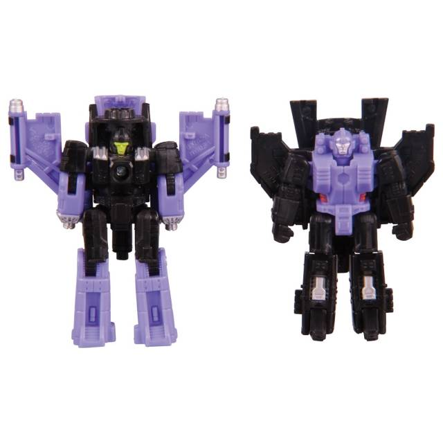 Transformers Generations War for Cybertron: Siege Micromaster Storm Cloud & Viper Decepticon Air Strike Patrol