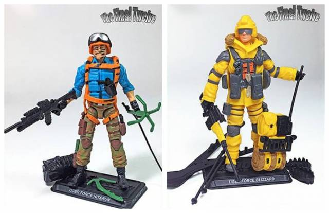 G.I. Joe The Final Twelve Hit & Run & Blizzard GI Joe Club 2018 G.I. Joe Club 2018 Exclusive