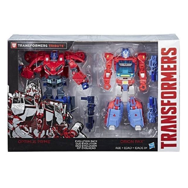 Transformers Tribute - Evolution Pack - Orion Pax & Optimus Prime Set - MIB