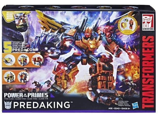 Transformers Power of the Primes - Predaking - set of 5 - MISB