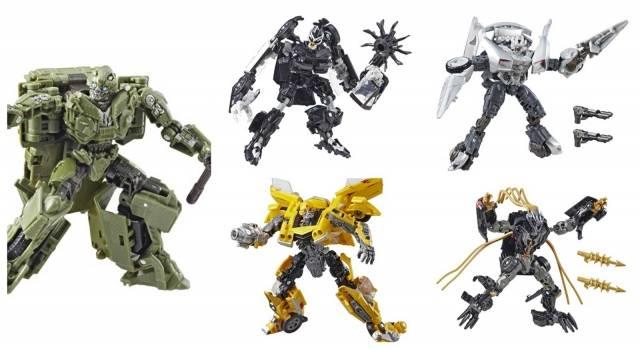 Transformers Studio Series Deluxe Wave 4 Set of 5