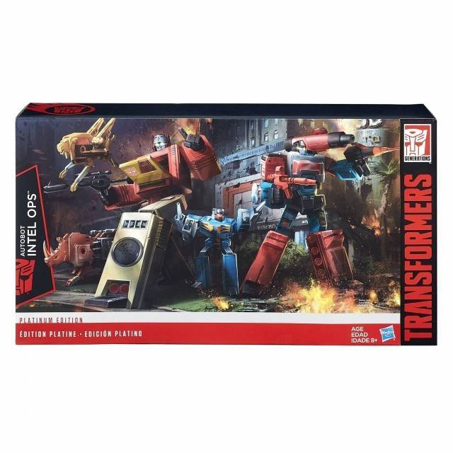 Platinum Edition - Autobot Intell Ops Set - Blaster & Perceptor - MIB