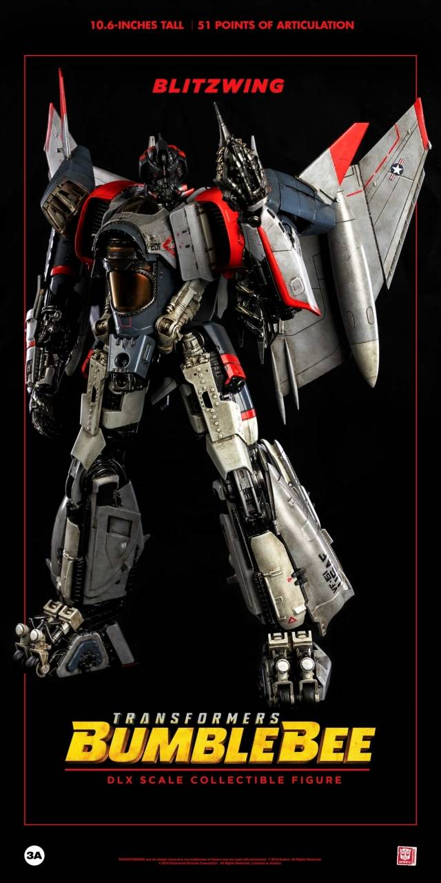 Transformers Bumblebee DLX Scale Collectible Figure Series Blitzwing