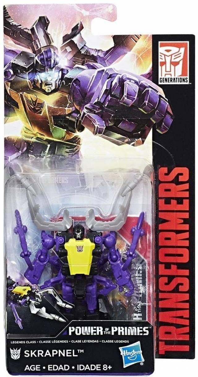 Transformers Power of the Primes - Legends Skrapnel - MOSC