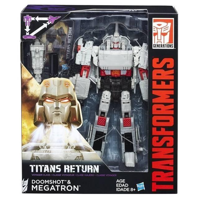 Titans Return 2016 - Voyager Megatron & Doomshot - MISB