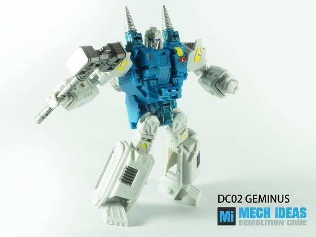 MECH iDEAS - DC-02 Geminus - MOC