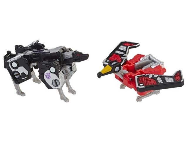 Transformers War for Cybertron: Siege Micromasters Spy Team - Laserbeak and Ravage