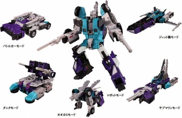 Transformers Legends Series - LG50 Sixshot - MISB