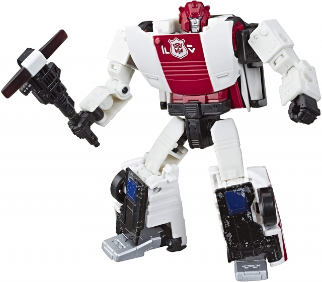 Transformers toys War for Cybertron Siege WFC-S35 RED ALERT New in stcok MISB
