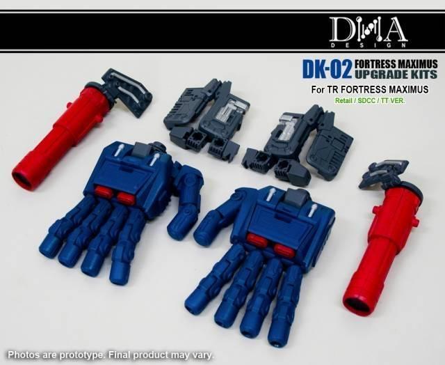 DNA Design - DK-02 - Fortress Maximus Upgrade Kit - MIB