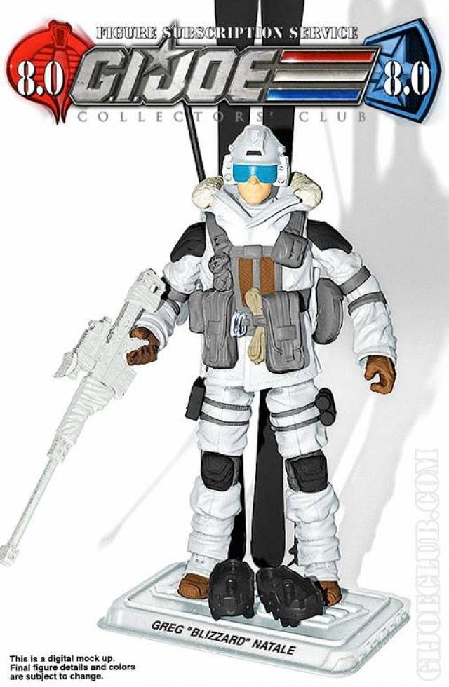 G.I. JOE - Subscription Figure 8.0 Blizzard