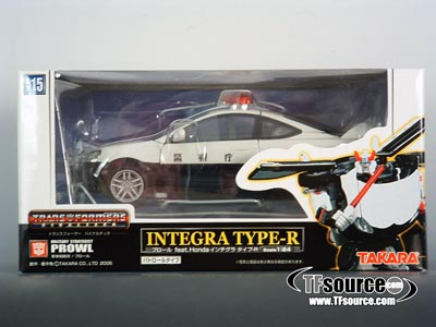 BT-15 Binaltech Prowl - Police Car - MISB