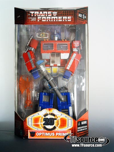 Masterpiece Optimus Prime - 20th Anniversary Edition - MIB -100% Complete