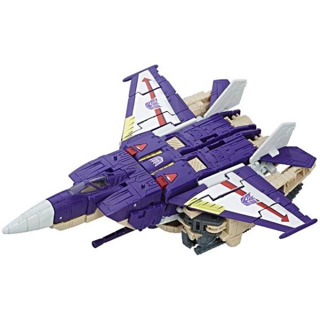 Transformers Titans Return - Voyager Blitzwing & Hazard - Loose 100% Complete