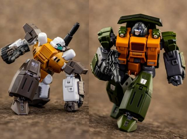 Mastermind Creations - Reformatted Series - R-39 Ebrius & Gravus Two Pack