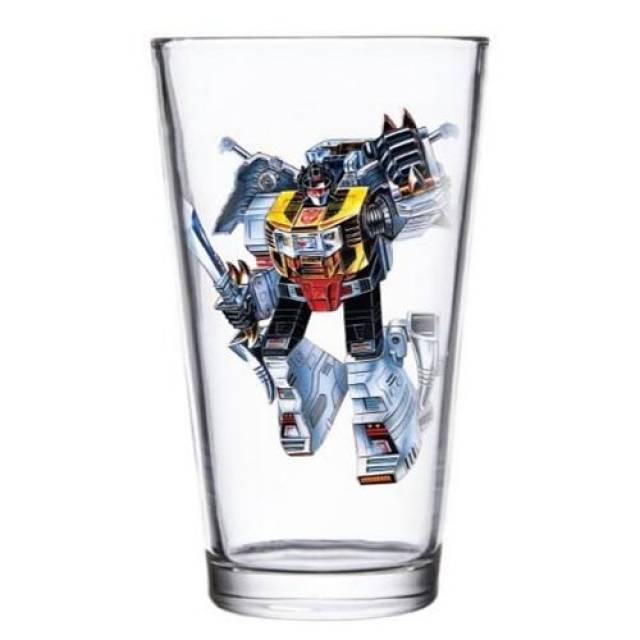 Transformers Grimlock Pint Glass