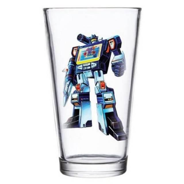 Transformers Soundwave Pint Glass