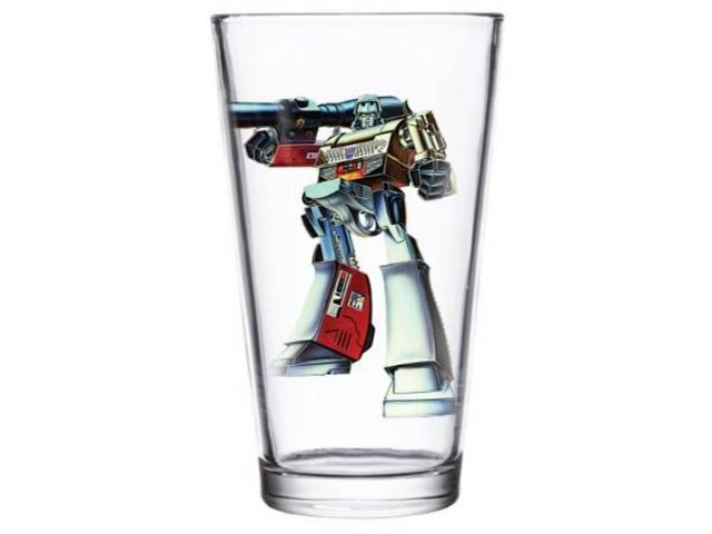 Transformers Megatron Pint Glass