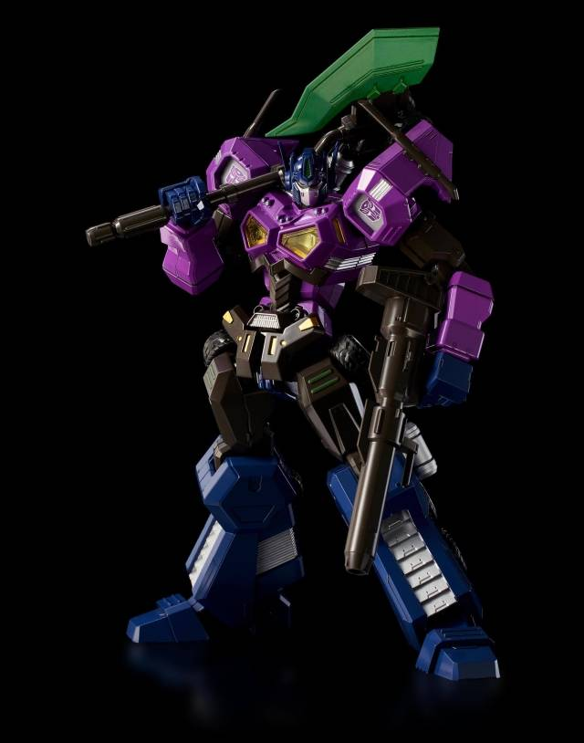 Transformers Furai Shattered Glass Optimus Prime Attack Mode