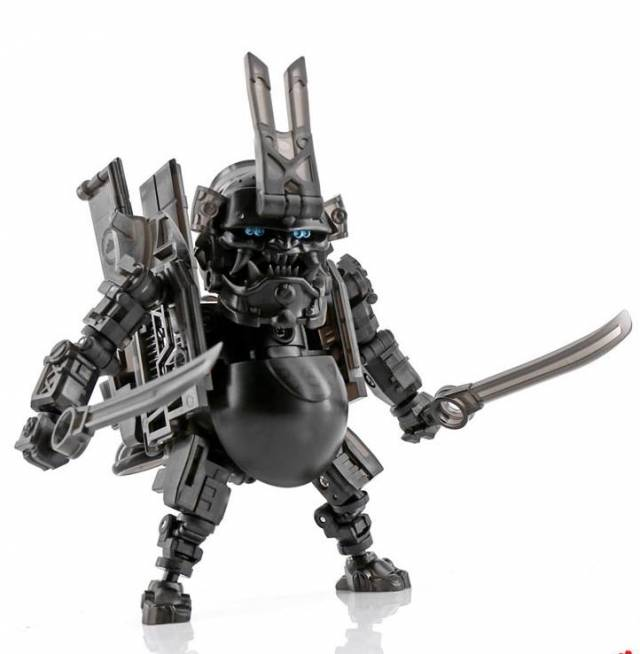 Toywolf - TW W-01 - Dirty Man Clear Black - Limited Edition