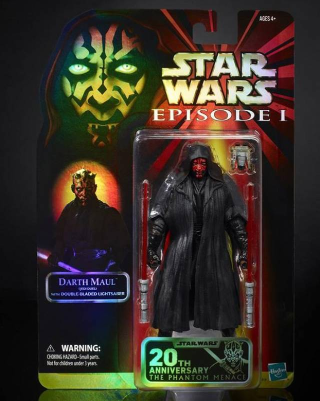 Star Wars Celebration 20th Anniversary Black Series Darth Maul