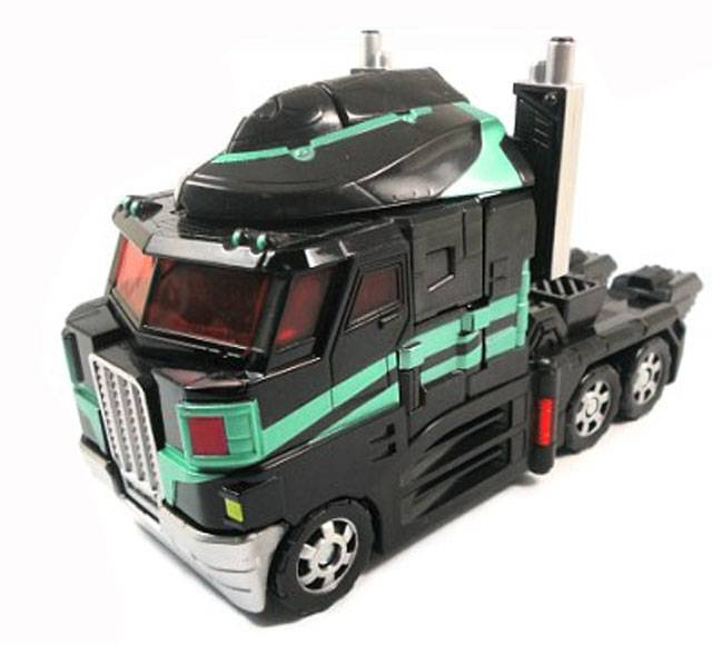Transformers United - Tokyo Toy Show - Black Version Optimus Prime - Loose 100% Complete