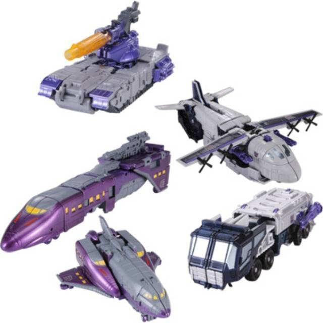 Henkei Classics - Decepticon Specialists - 3-Pack - Loose 100% Complete