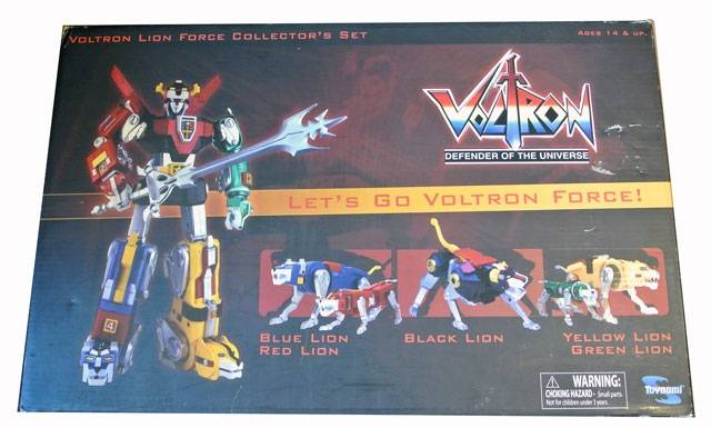 Voltron - Lion Force Collector Set - MIB