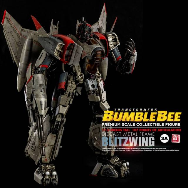Transformers Bumblebee - Blitzwing Premium Scale Collectible Figure