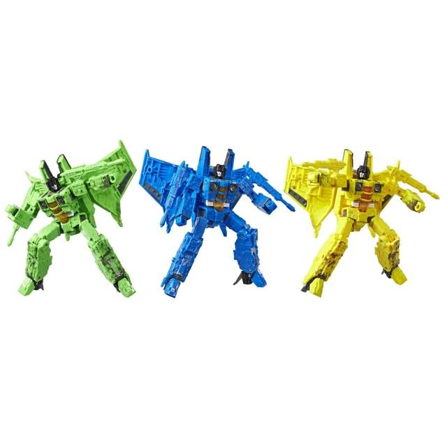 Transformers Generations War for Cybertron: Siege Voyager Rainmakers: Acid Storm, Ion Storm, & Nova Storm 3-Pack