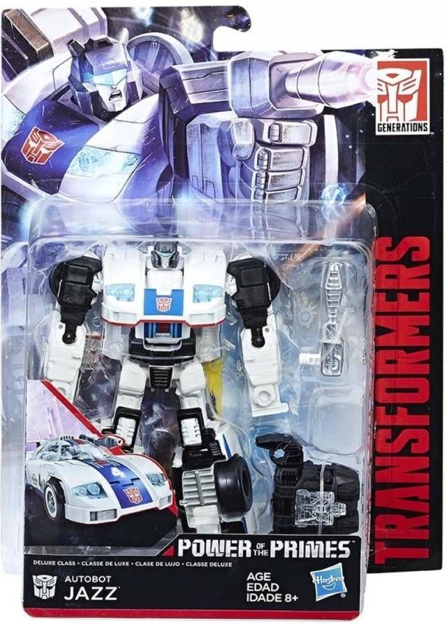 Transformers Power of the Primes - Deluxe Jazz - MOSC