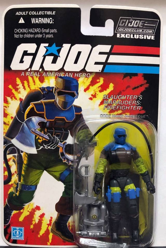 G.I. Joe The Final Twelve Barbecue G.I. Joe Club 2018 Exclusive