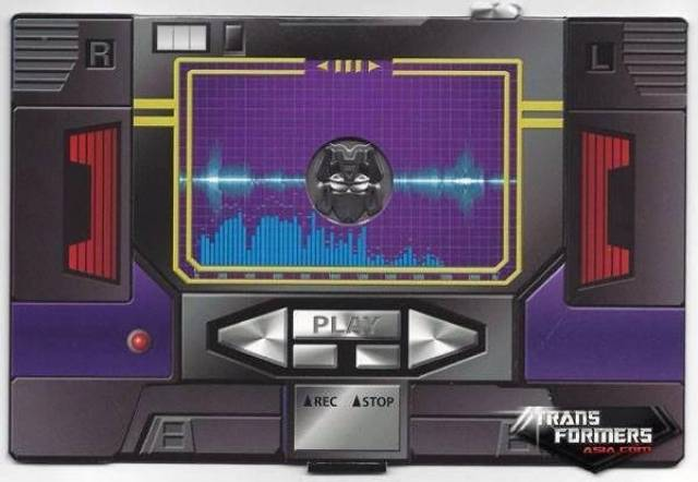 Transformers Masterpiece MP-13B Soundblaster - Collector's Coin