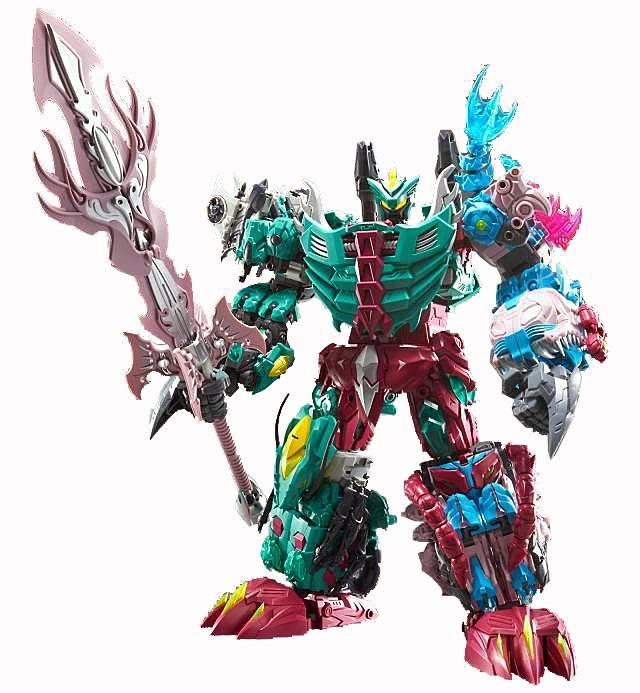TFC Toys - Poseidon - Set of 6 Figures - Loose Complete