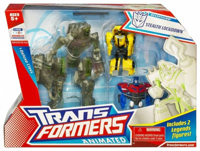 Transformers Animated - Stealth Lockdown - MISB