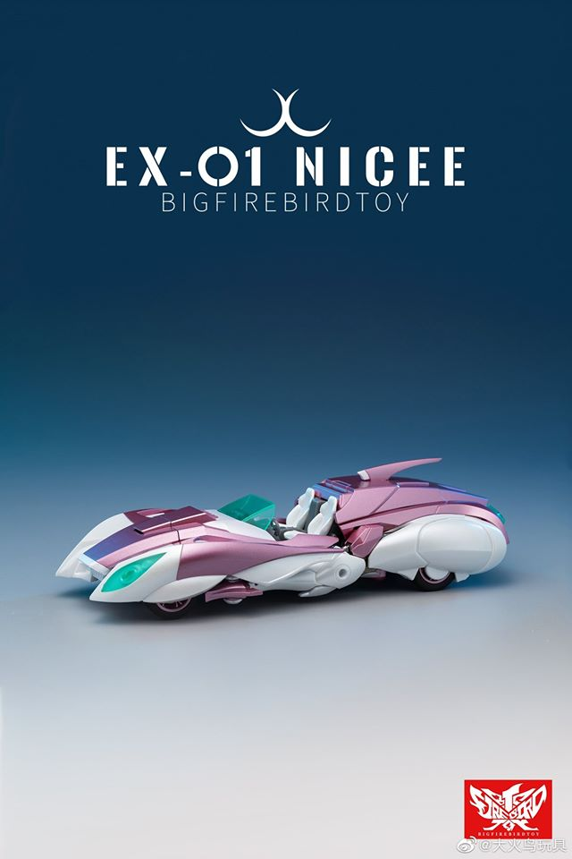 Transformers NICEE EX-01 IDW Arcee Cee Action Figure Model In Stock NEW