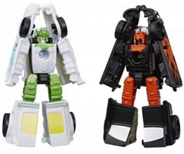 Transformers War for Cybertron: Earthrise Micromasters - Hot Rod Patrol (Set of 2)