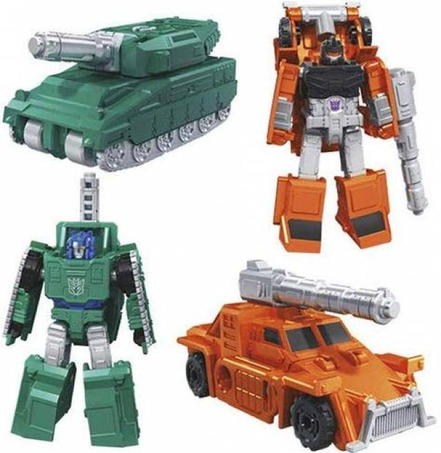 Transformers War for Cybertron: Earthrise Micromasters - Military Patrol (Set of 2)