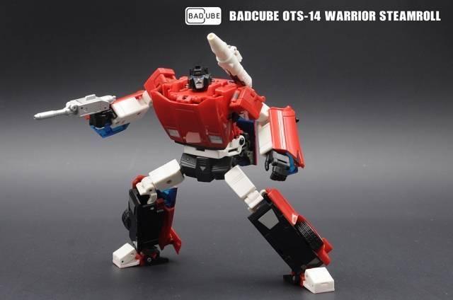 Badcube - Old Time Series - OTS-14 Steamroll (Warrior) - MISB