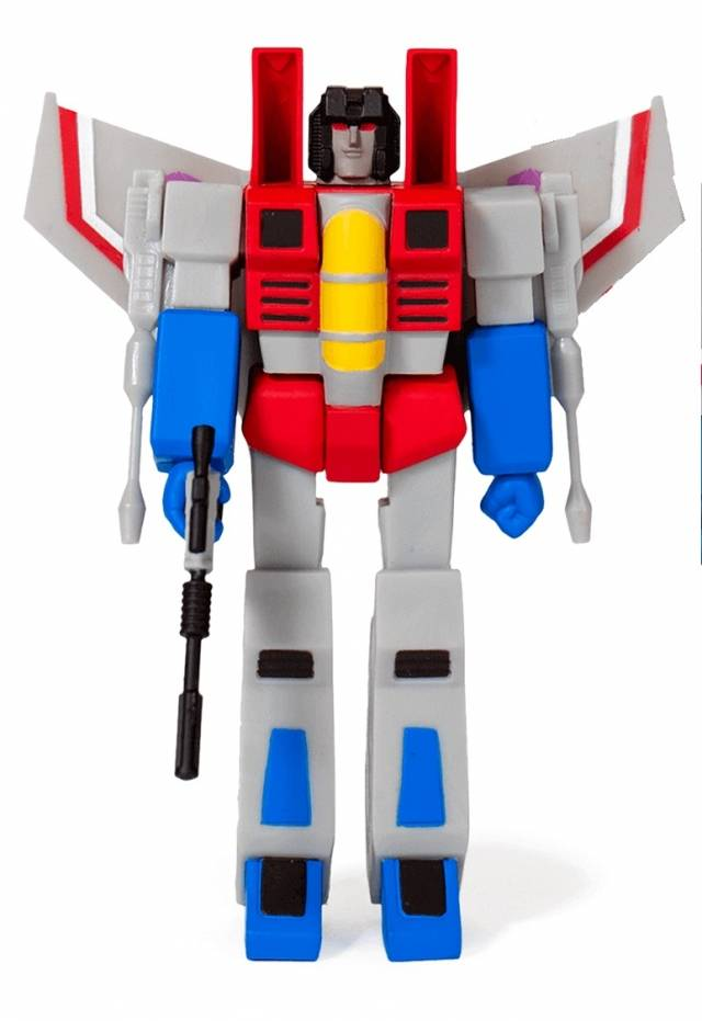 Transformers ReAction Starscream