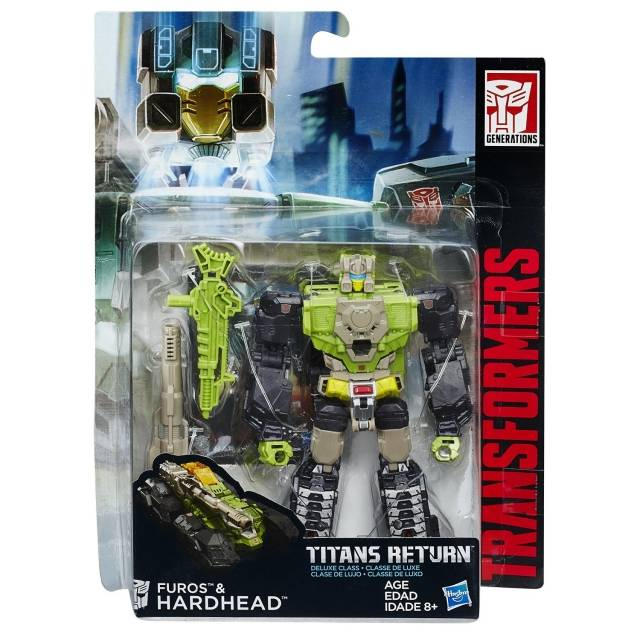 Titans Return 2016 - Deluxe Hardhead - MOSC