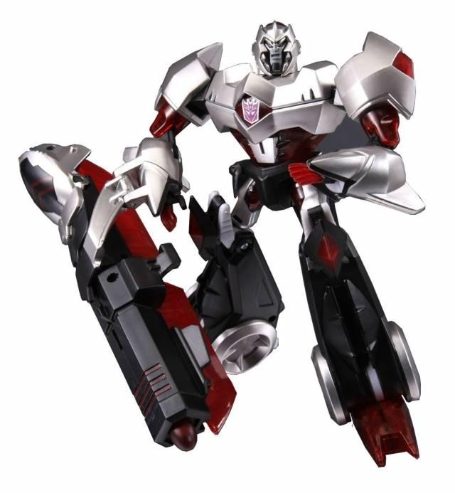Japanese Transformers Animated - TA06 Megatron - MIB