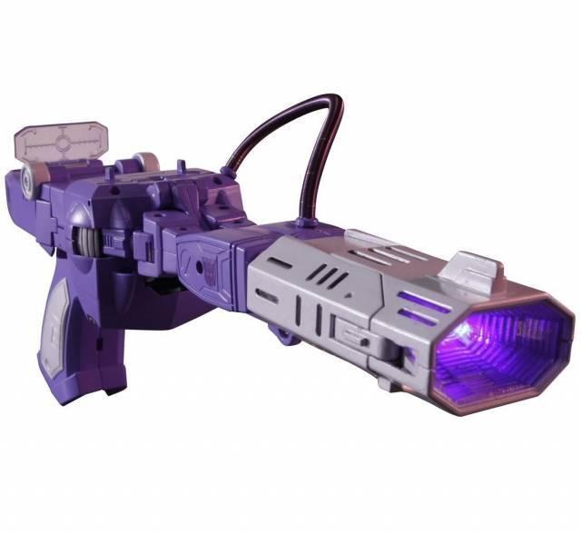 Transformers Masterpiece MP-29+ Shockwave - Laserwave - G1 Toy Color Version - Loose Complete