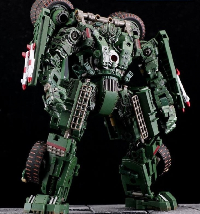 Devil Saviour New Transformable Robot  DS-02Giant Axe Troublemaker 8 Toy