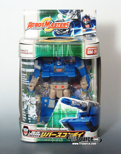 Robot Masters - RM-24 Reverse Convoy - MIB