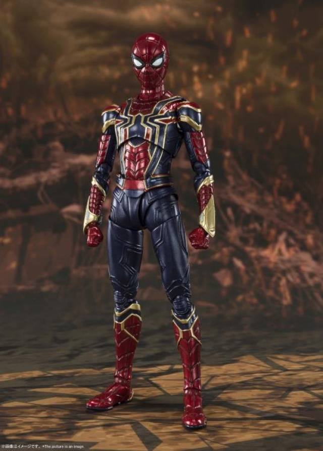 S.H.Figuarts Avengers-End Game Iron Spider | Final Battle Edition